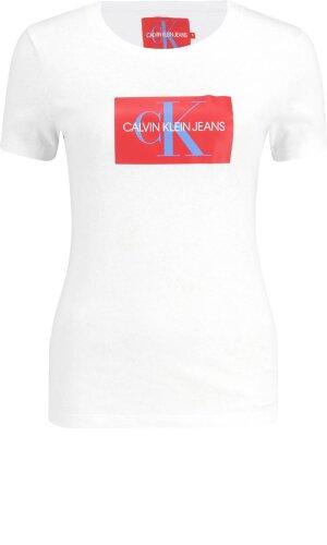 Calvin Klein Jeans T-shirt MONOGRAM BOX LOGO SL | Regular Fit