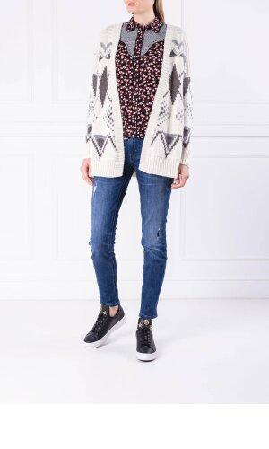 Pepe Jeans London Kardigan CLARAS | Loose fit | z dodatkiem wełny