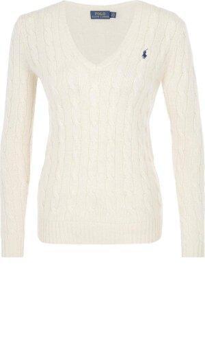 Polo Ralph Lauren Wełniany sweter | Regular Fit | z dodatkiem kaszmiru