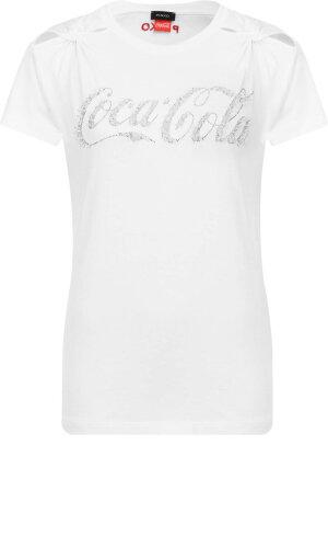Pinko T-shirt Lavanda Coco-Cola