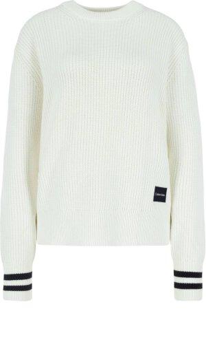 Calvin Klein Sweter | Regular Fit | z dodatkiem wełny