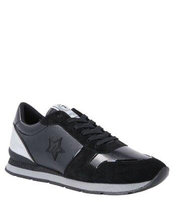 432c30a14db3c5 Sneakersy STAR MONOGRAM | z dodatkiem skóry new