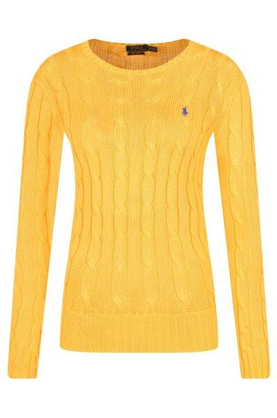 9475de74d Sweter | Slim Fit | pima Polo Ralph Lauren | żółty | Gomez.pl