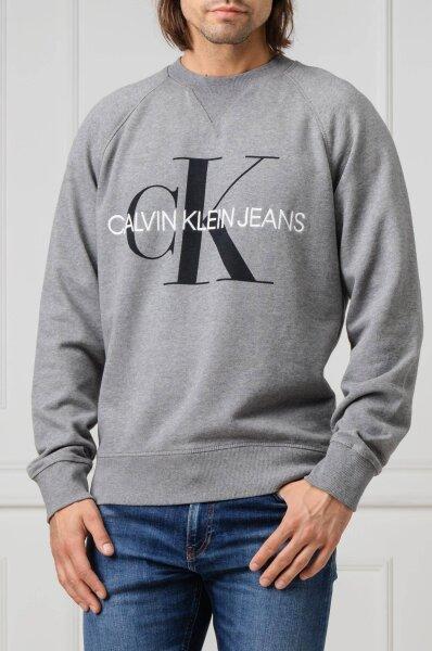 Bluza MONOGRAM | Relaxed fit Calvin Klein Jeans | Szary