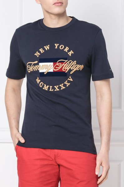 T shirt ICON | Relaxed fit Tommy Hilfiger | Navy blue