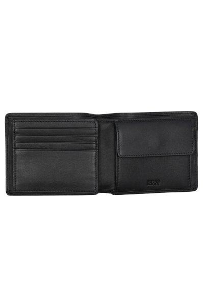 7a984af2e9a8d Skórzany portfel Majestic S Trifold Boss czarny