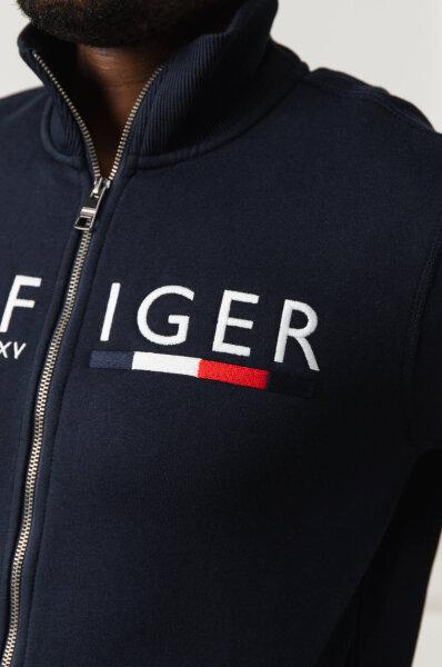 Bluza LOGO | Regular Fit Tommy Hilfiger | Czarny | Gomez.pl