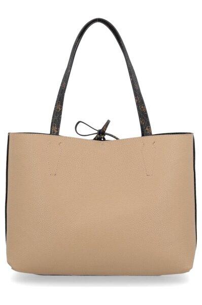 Reversible shopper bag 2in1 BOBBI INSIDE OUT Guess | Brown
