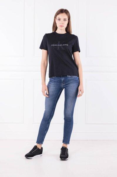cc4a0acba1c T-shirt SATIN MONOGRAM RELAX