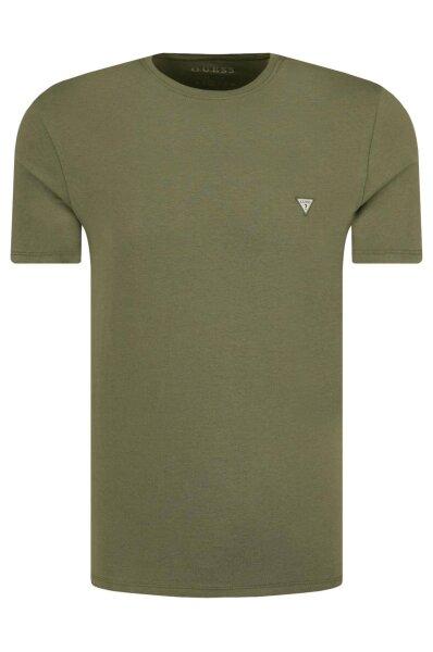 dbeedfe038 T-shirt Core   Extra slim fit Guess Jeans   Green   Gomez.pl/en
