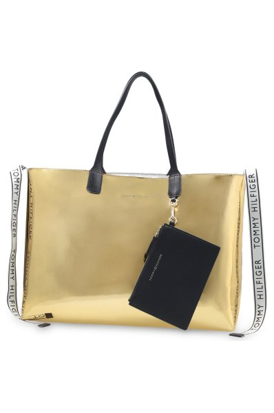 15f9c729 Reversible shopper bag + sachet ICONIC TOMMY METALLIC Tommy Hilfiger ...