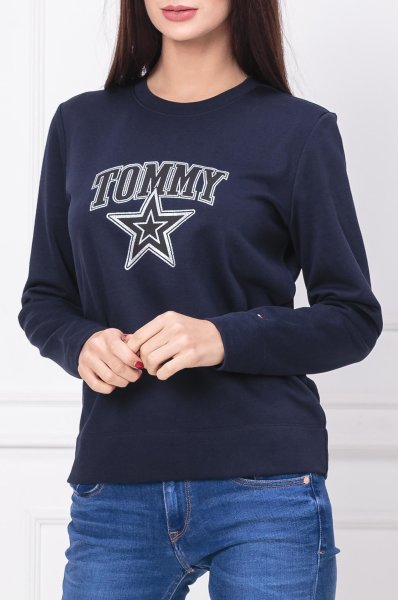 c89fc972 Sweatshirt HALEY C-NK | Regular Fit Tommy Hilfiger | Navy blue ...