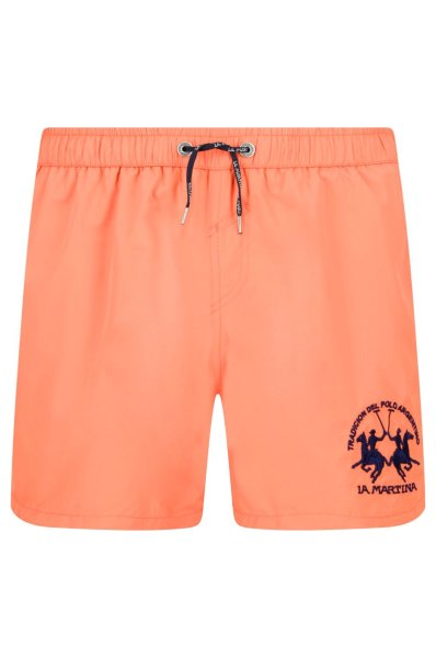 11f6023abb Swimming shorts Marmaduke   Regular Fit La Martina   Coral   Gomez.pl/en