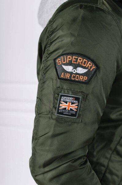 b5927e1c2 Bomber jacket PATCH ROOKIE FLIGHT | Regular Fit Superdry | Khaki ...