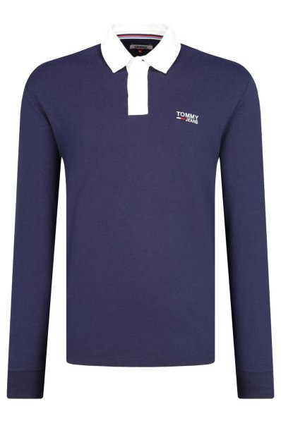 baaec0c0 Polo TJM ESSENTIAL RUGBY | Loose fit Tommy Jeans | Navy blue | Gomez ...