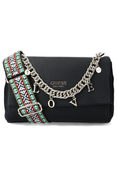 Torby na ramię CONNER SHOULDER BAG, HWVG73 05210 BLA (Guess)