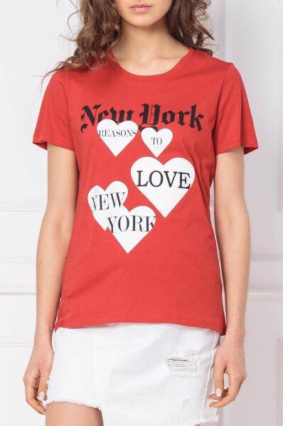 newest 43125 7fa19 T-shirt KANCHABU | Regular Fit Silvian Heach | Red | Gomez.pl/en