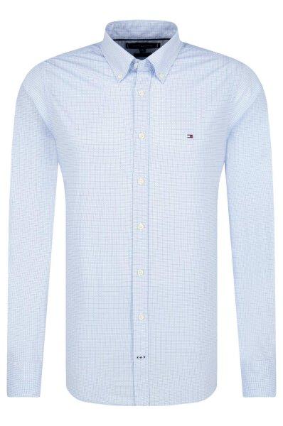 5cf643904f6 Shirt nano print   Slim Fit Tommy Hilfiger   Blue   Gomez.pl/en
