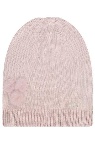 0b1f17736 Cap | with addition of wool and cashmere Liu Jo | Beige | Gomez.pl/en