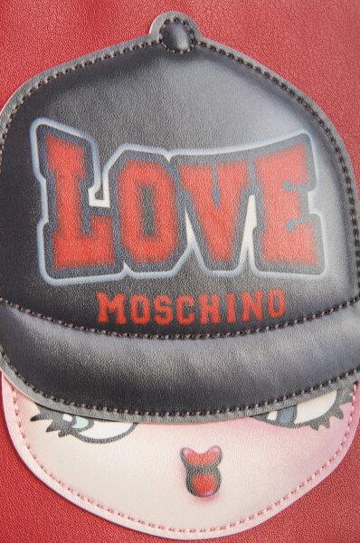 dec846ccb5 I Love Girls Cosmetic bag Love Moschino   Red   Gomez.pl/en