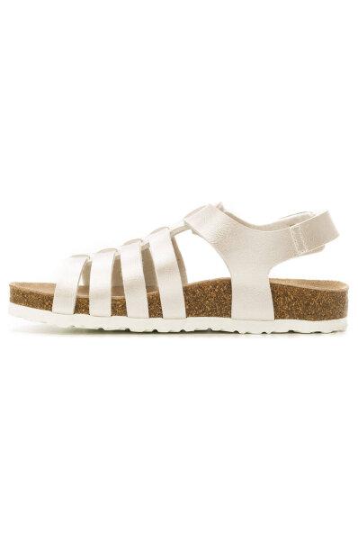 Sandały Mini Bio Pepe Jeans London srebrny