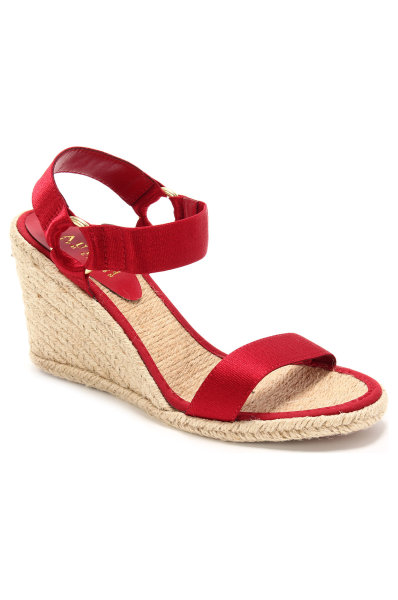 7c643b599d4d Indigo Wedge sandals Lauren Ralph Lauren red. N82 Q0229 KIFJS A6000