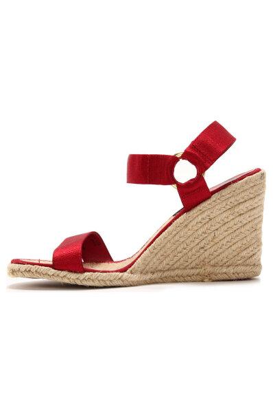 dcc2bce321b5 Indigo Wedge sandals Lauren Ralph Lauren red