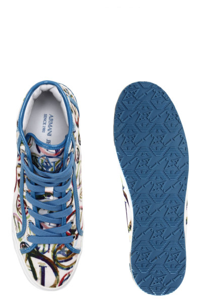 Trampki Armani Jeans błękitny