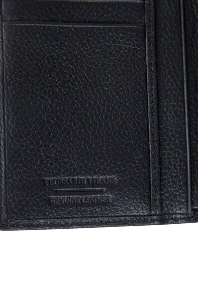 Portfel Trussardi Jeans czarny