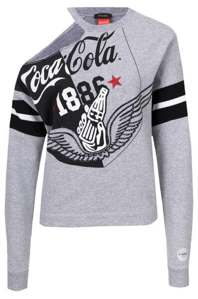 5f58fe7925 Croccante Coca-Cola Sweatshirt Pinko | Gray | Gomez.pl/en