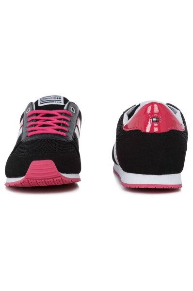c7a63f58dadd4 Sneakersy Jaimie Tommy Hilfiger | Czarny | Gomez.pl