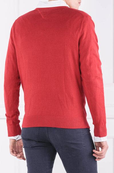 710c700fe67bf Sweter | Regular Fit | z dodatkiem kaszmiru Tommy Hilfiger czerwony