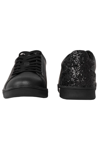 Super Glitter Sneakers Guess   Black