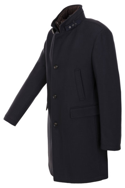 am modischsten anders für die ganze Familie Micor wool coat Joop! COLLECTION   Navy blue   Gomez.pl/en