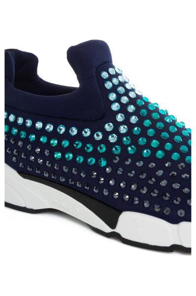 Sneakersy Gem Pinko niebieski