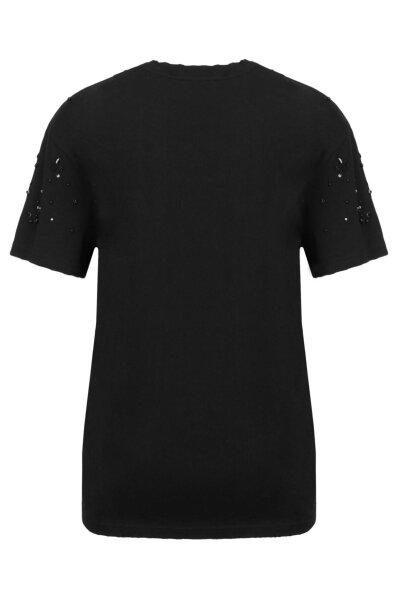 T-shirt Pinko Jean Antitatu Pinko czarny