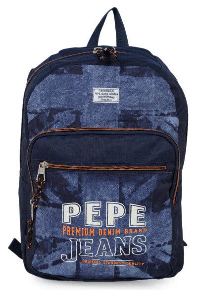 0b644dc5bcd Backpack Pepe Jeans London | Navy blue | Gomez.pl/en