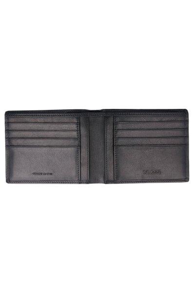 151e22247f7a1 Skórzany portfel NEW BOSTON Guess czarny