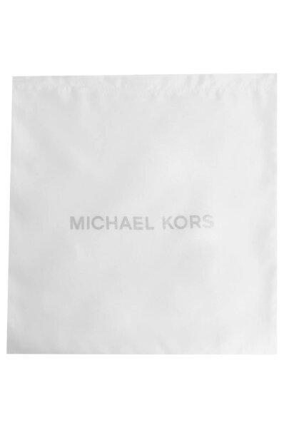 Skórzana shopperka Maddie Michael Kors czarny