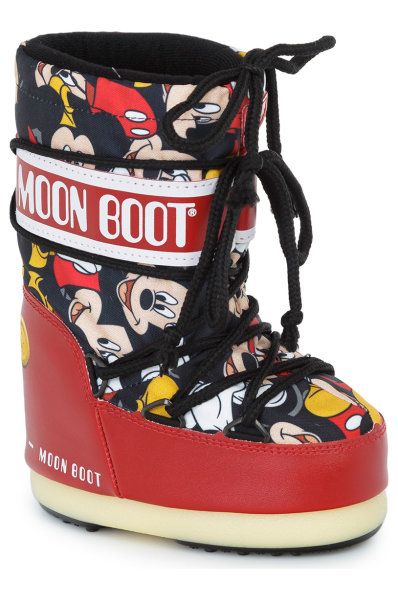 44892c6a3e87 Mickey Snow Boots Moon Boot red. 34050600