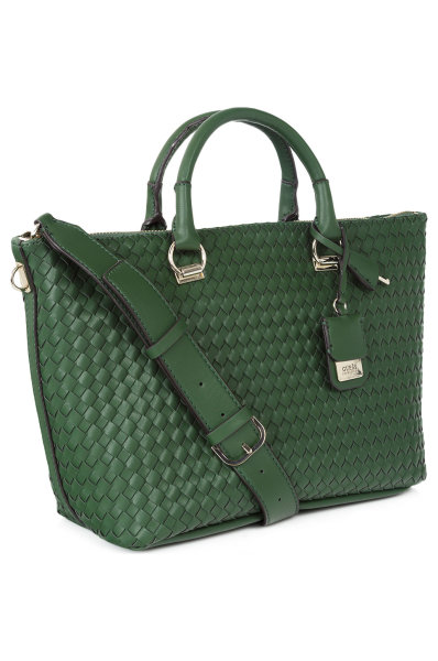 32e552c714a3 Zoie Shopper Bag Guess green