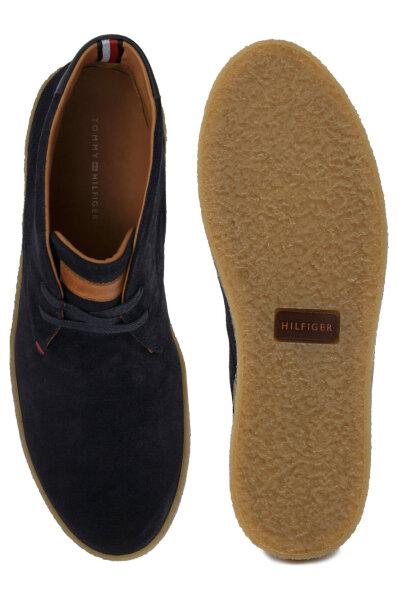 c1dd355624c Boots chukka Logan 2b Tommy Hilfiger | Navy blue | Gomez.pl/en