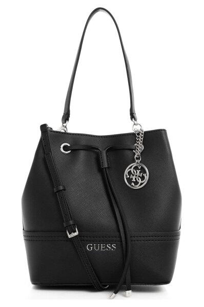 1c0d6220ee8 Delaney Bucket Bag Guess   Black   Gomez.pl/en