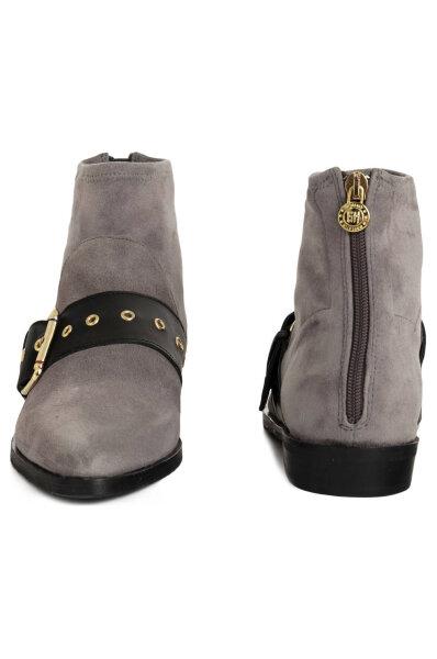 6315f2a3c3c3 Ankle boots Gigi Hadid Flat Boot Tommy Hilfiger gray