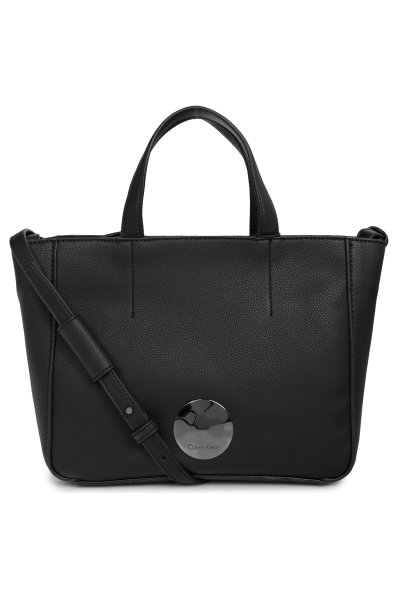 c286b89bc714c Olivia Mini Tote shopper bag Calvin Klein black. K60K603565