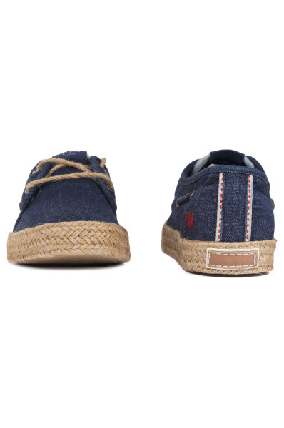 ee0ac788f7992 Espadryle Sailor Deck Denim Pepe Jeans London | Granatowy | Gomez.pl