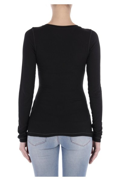 Blouse | Slim Fit Tommy Jeans black
