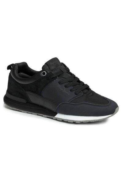 2f920fe3822 Boston B&W Sneakers Pepe Jeans London | Black | Gomez.pl/en