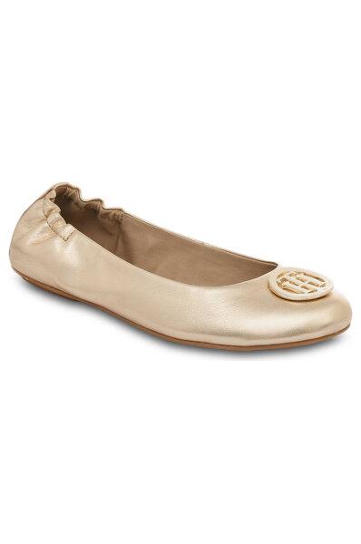 Flat shoes Tommy Hilfiger | Gold