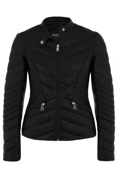 7a38b43ec8493 Kurtka Felicia Guess Jeans czarny. W81L05 W9IZ0